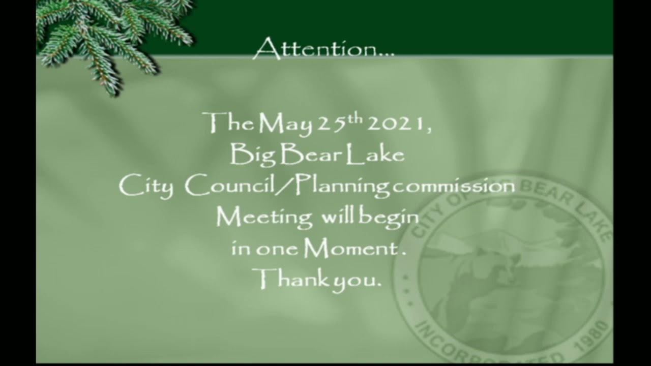 Special Joint City Council and Planning Commission Meeting - 5/25/2021 Part 1:2