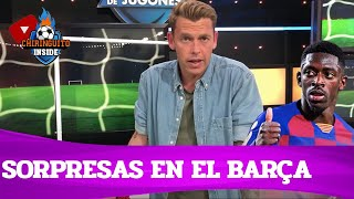 🔵🔴 ¡SORPRESAS en el BARÇA! | La pizarra de Jota Jordi vs Getafe | Chiringuito Inside