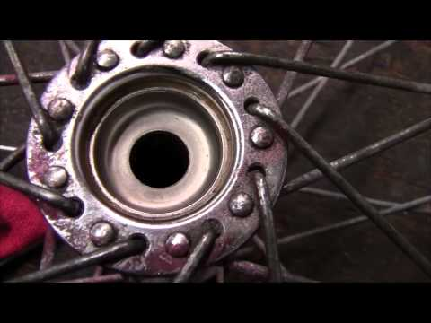 How to Rebuild and Repair a Wheel Bearing on a Bicycle