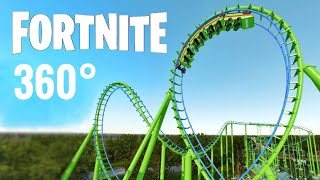 Fast Roller Coaster 360 video Experience Fortnite 360° Virtual Reality Labo VR PSVR