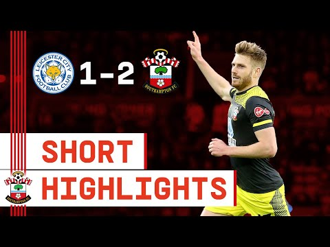 90-SECOND HIGHLIGHTS: Leicester City 1-2 Southampton | Premier League