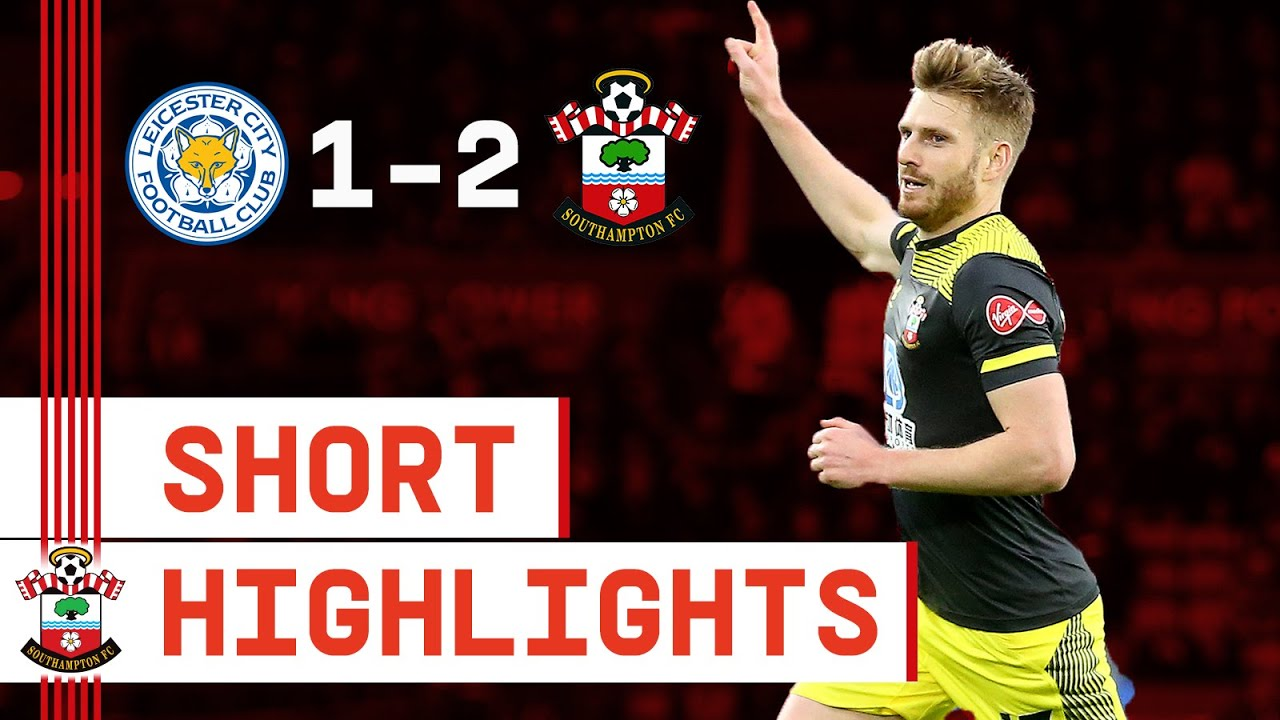 90-SECOND HIGHLIGHTS: Leicester City 1-2 Southampton | Premier League