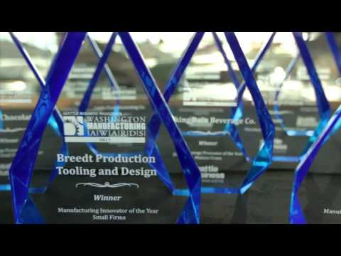 Seattle Business Magazine's  Manufacturing Awards Highlight Reel