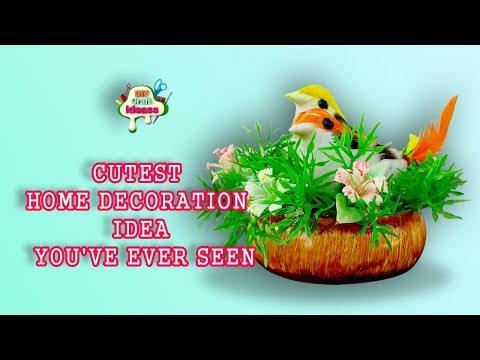 CUTEST HOME DECORATION IDEA YOU'VE EVER SEEN | arush diy craft Ideas