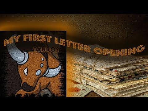 1st Mail Opening Video