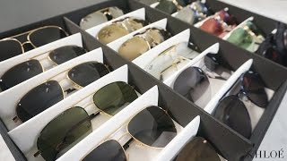 KHLO-C-D: How I Organize My Sunglasses 😎 ☀️ 😎