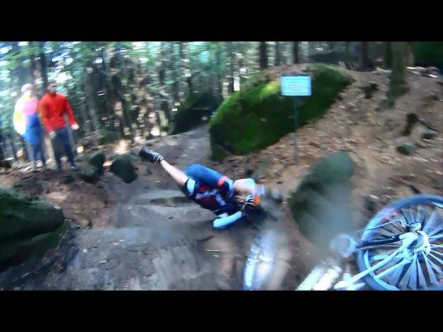 Rallye Sudety 2015 - bike camera