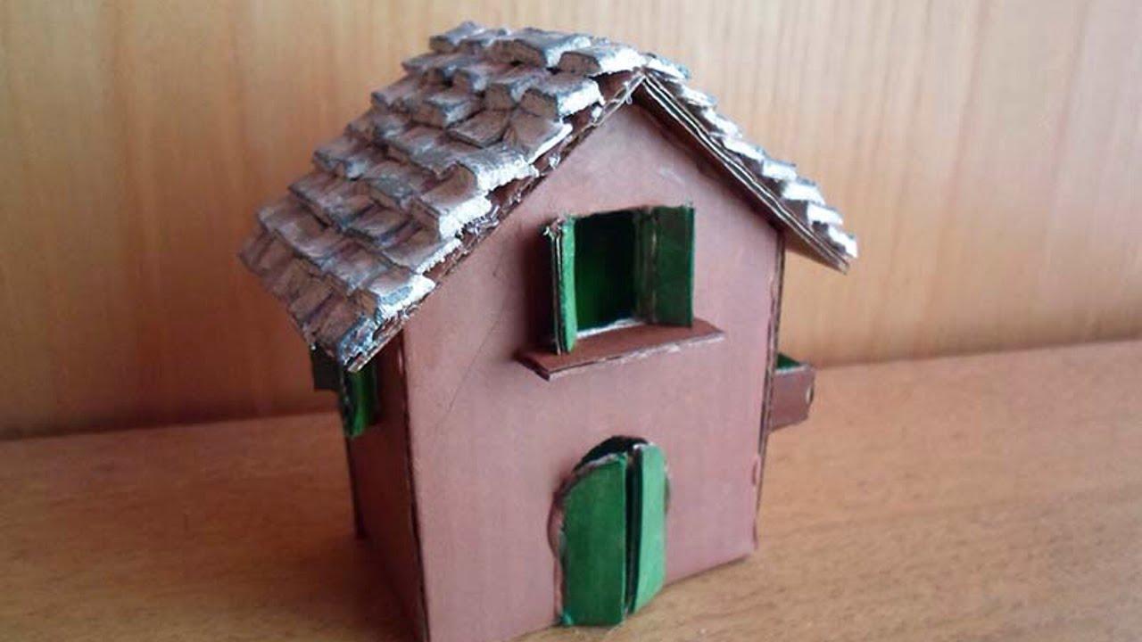 Crea una graziosa casetta in miniatura fai da te - Casette di cartone da costruire ...