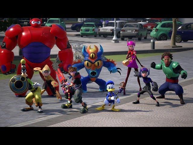 KINGDOM HEARTS III – TGS Big Hero 6 Trailer (Closed Captions)