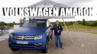 Volkswagen Amarok 2016 V6 3.0 TDI (ENG) - First Test Drive and Review
