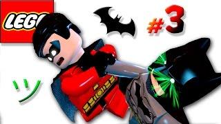 Мультик игра про Бэтмена [3] Лечение продолжается   Семен Плей