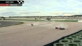 Alex De Angelis 2005 MotoGP 250cc Spanish Grand Prix at Valencia QP1 02