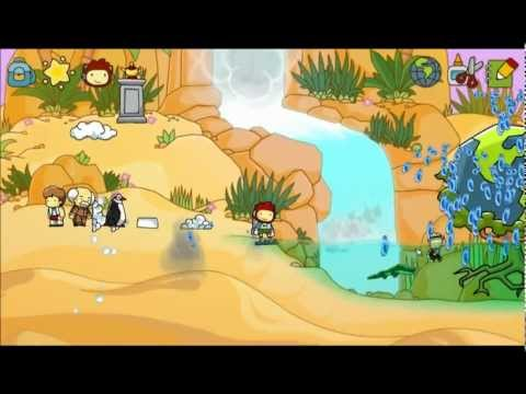 Scribblenauts Unlimited Part 16: Sandy sands.