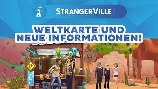 Die Weltkarte von StrangerVille + viele neue Pack-Infos! | Short-News | sims-blog.de