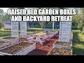 Raised Bed Garden Boxes And Backyard Retreat
