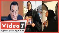 انهيار مواطنين امام المستشفى بسبب وفاة مبارك