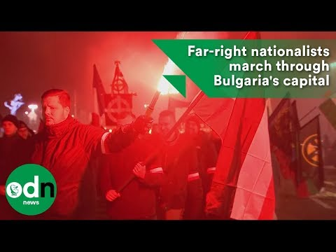 Far-right nationalists march through Bulgaria's capital