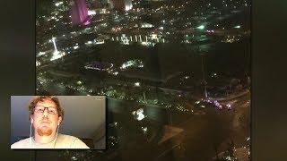 Man staying 2 floors below shooter recalls horrors of Las Vegas shooting