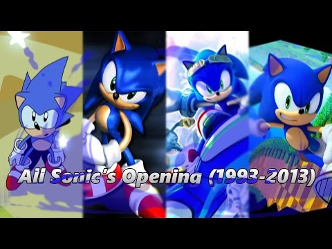 UPDATE All Sonic Games Opening  19932013