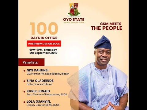 100 Days In Office Of Seyi Makinde