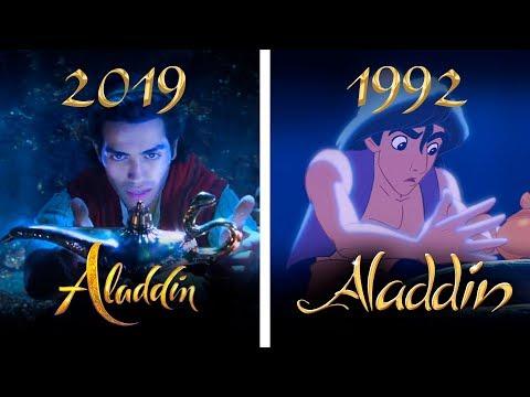 ALADDIN 2019 VS 1992 Teaser comparison