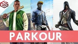 PARKOUR in 5 Different OpenWorld Games