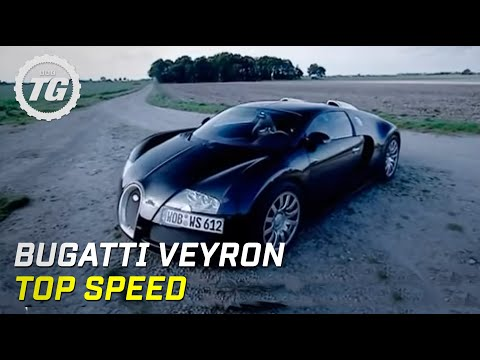 Bugatti Veyron Top Speed Test – Top Gear – BBC