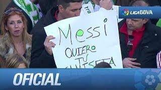 vuclip Pancartas en el Elche CF - FC Barcelona