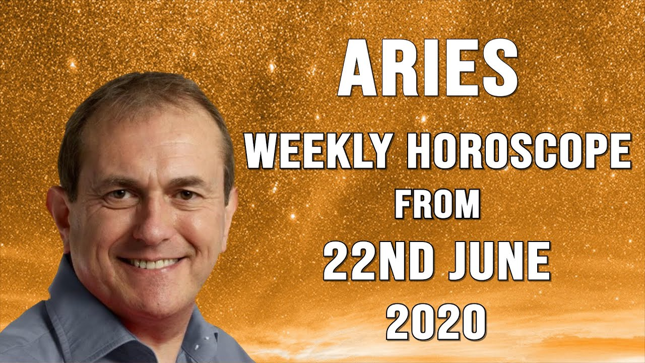 Aries Weekly Horoscope From 22nd June 2020 Youtube