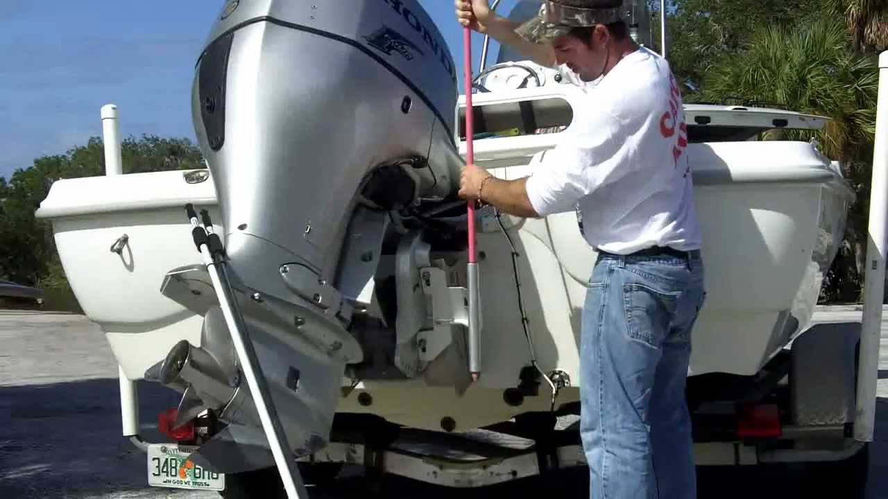 Dig In Shallow Water Anchor Motor Mount Install With