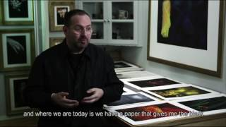 Epson Signature Worthy Cold Press Natural Paper - Vincent Versace