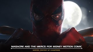 Masacre and the Mercs for Money Motion Comic | Marvel Contest of Champions