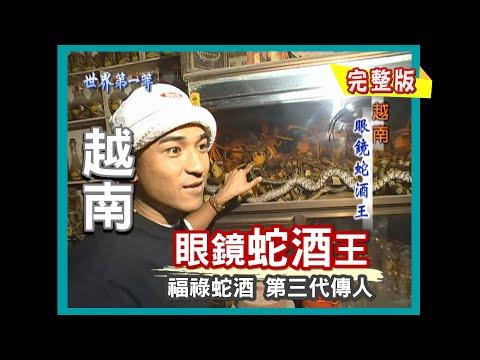 【越南】最補 眼鏡蛇酒王 / 野生大土龍 《世界第一等》27集完整版
