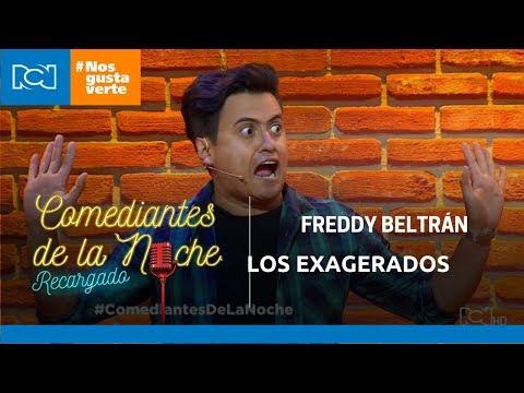 Freddy Beltrán en Comediantes De La Noche - Los exagerados