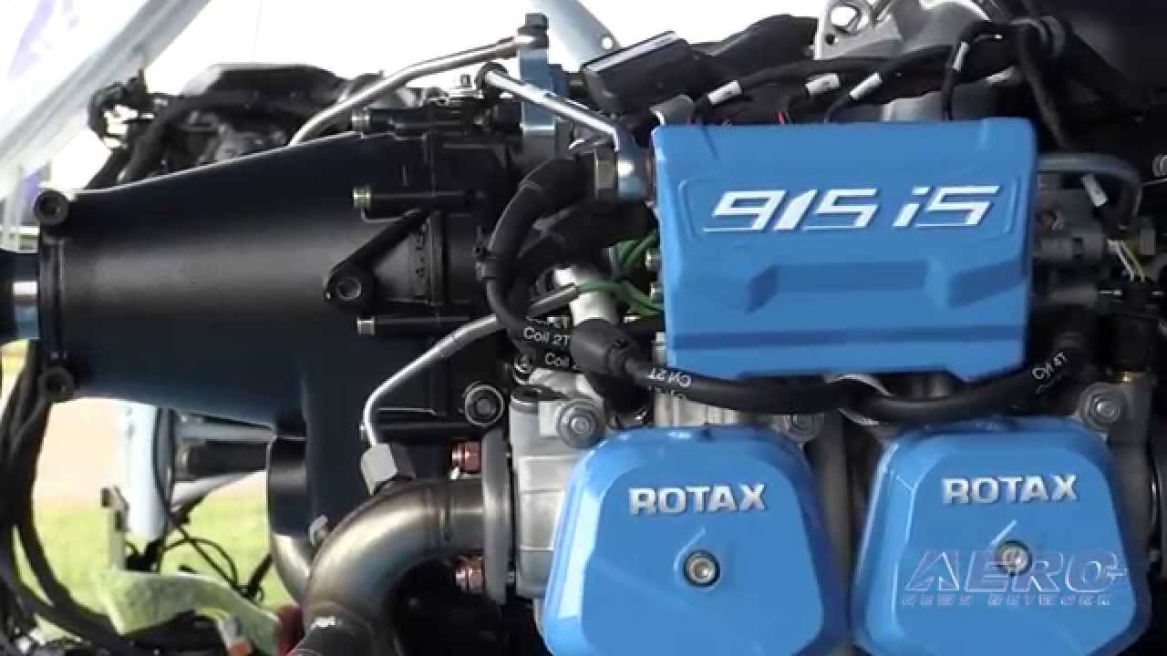 Aero-TV: Just What We've Always Wanted - The New/More Powerful Rotax 915is