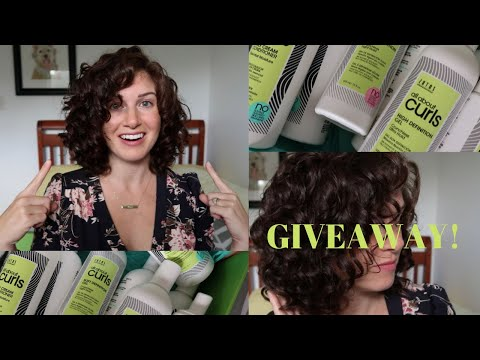 NEW Curly Hair Products   Giveaway Closed