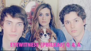 Eyewitness Q&A with PHILKAS // James Paxton & Tyler Young