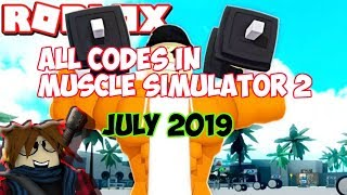 *JULY 2019* ALL WORKING CODES IN MUSCLE SIMULATOR 2! | Roblox Muscle Simulator 2