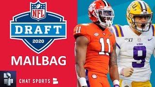 2020 NFL Draft Rumors: Isaiah Simmons? Henry Ruggs To Cowboys? Derrick Brown? Joe Burrow? | Mailbag
