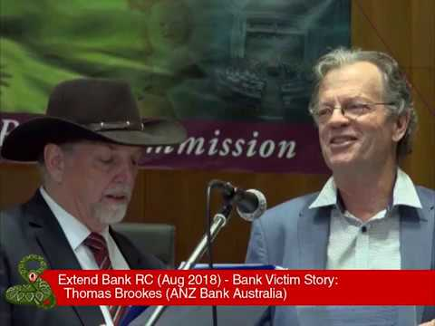 Thomas Brookes - Victim of ANZ   Bank Victims Stories   Bank Reform