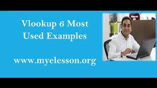 6 Examples of Vlookup Formula in Hindi