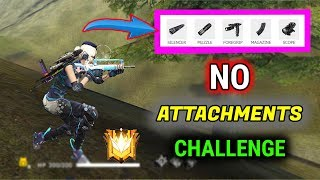 No Attachments Challenge in Rank Match - Garena Free Fire - Desi Gamers