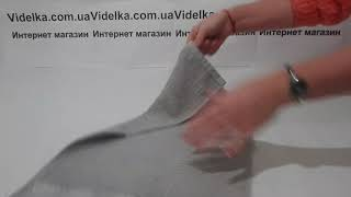 Полотенце кухонное 30х50 Hobby - Meyve серое - обзор