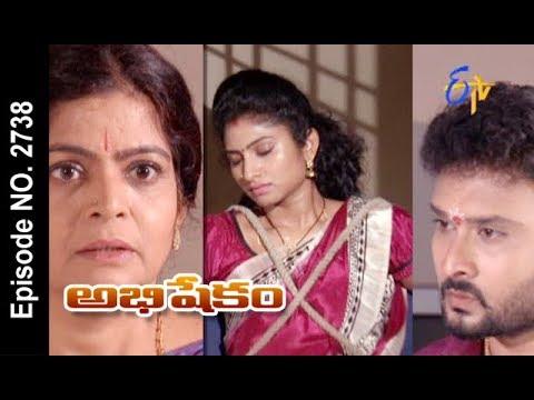 Abhishekam | 26th October 2017| Full Episode No 2738 | ETV Telugu