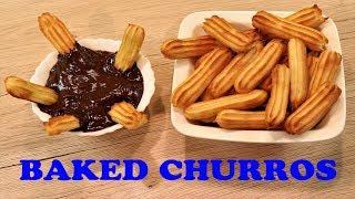 Baked Churros | By Neetu Suresh