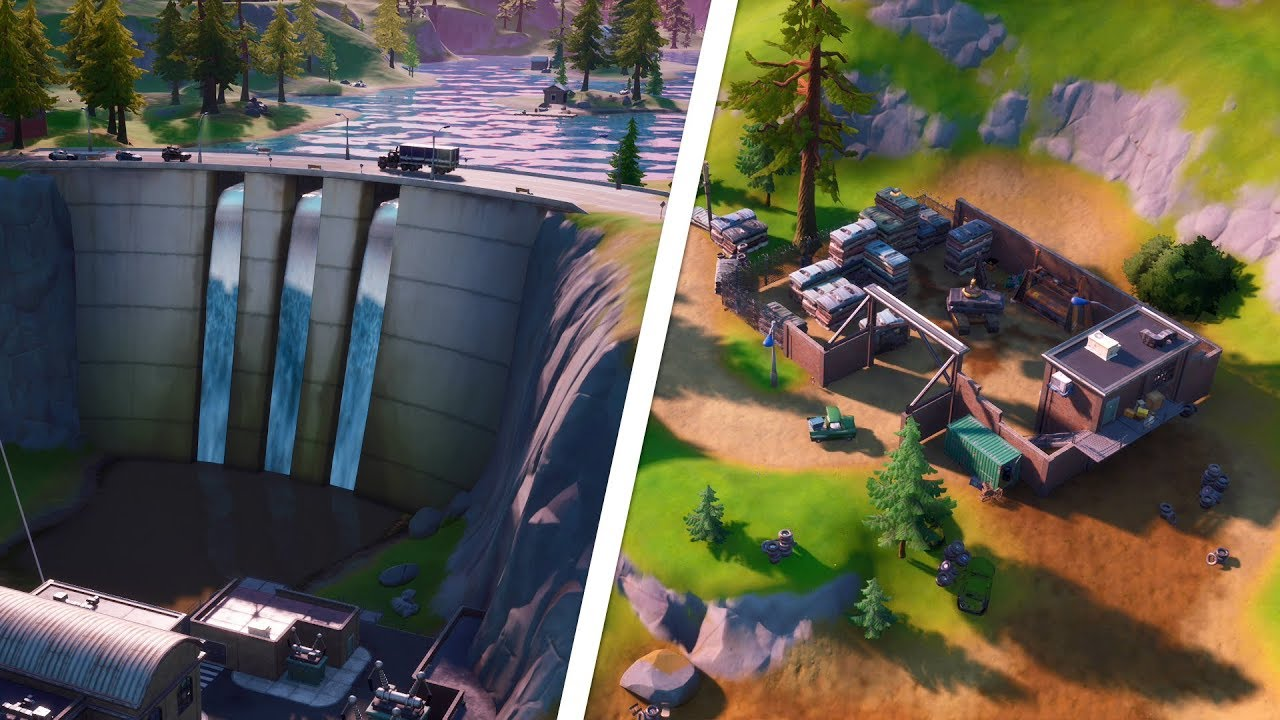 Collect Metal At Hydro 16 Or Compact Cars Locations Fortnite Youtube