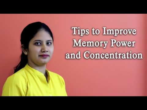 Tips To Improve Memory Power And Concentration Hindi