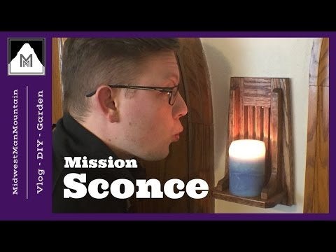 How to Make a Mission Style Wall Sconce