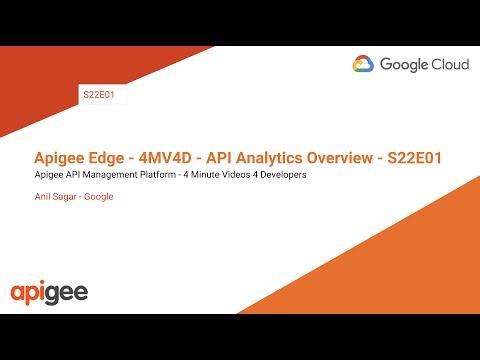 API Analytics overview   Apigee Docs