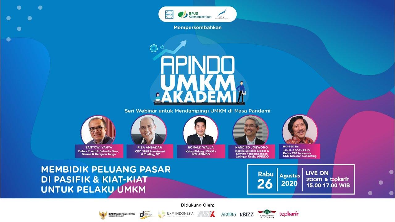 Launching APINDO UMKM AKADEMI